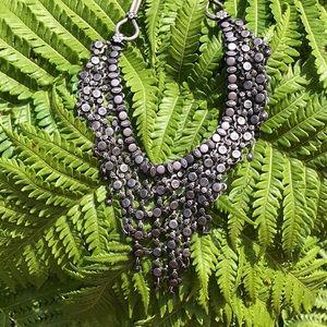 Jewelry - Vintage antique bib harem necklace gypsy boho
